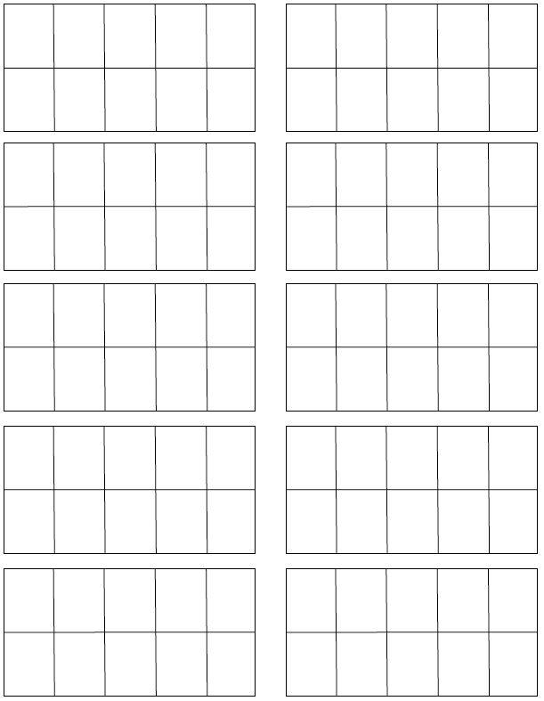 Blank+Ten+Frames+Printable | math ideas | Pinterest | Math, Ten ...