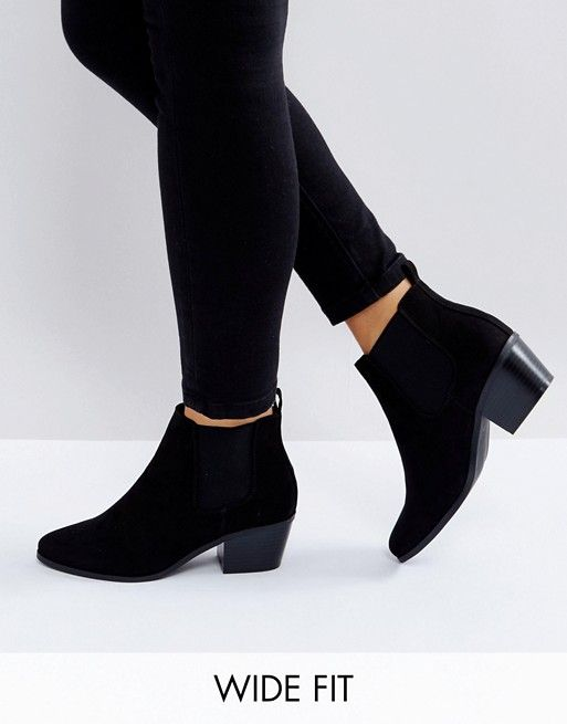 Black ankle boots outfit