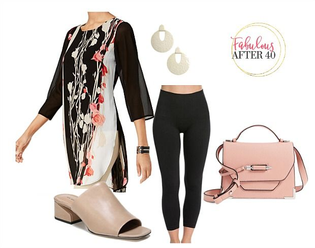 269d45f30f0 Fashion Over 40: Sporty Spring Tops To Wear With Leggings | Fabulous After  40