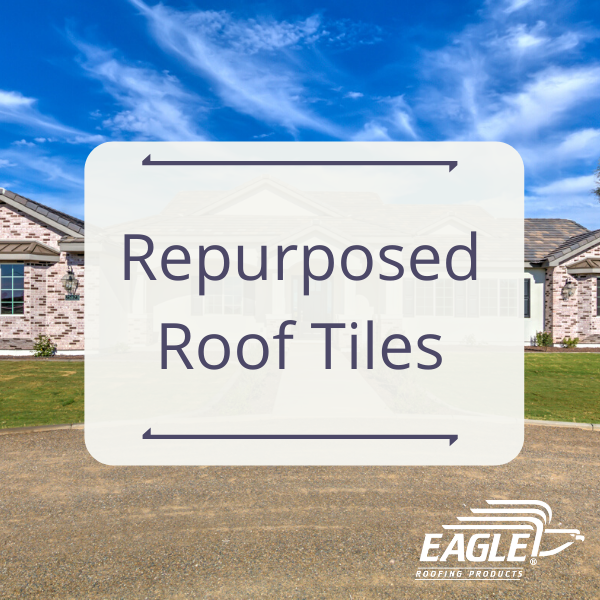 Repurposed Roof Tiles In 2020 Roofing Roof Concrete Roof Tiles