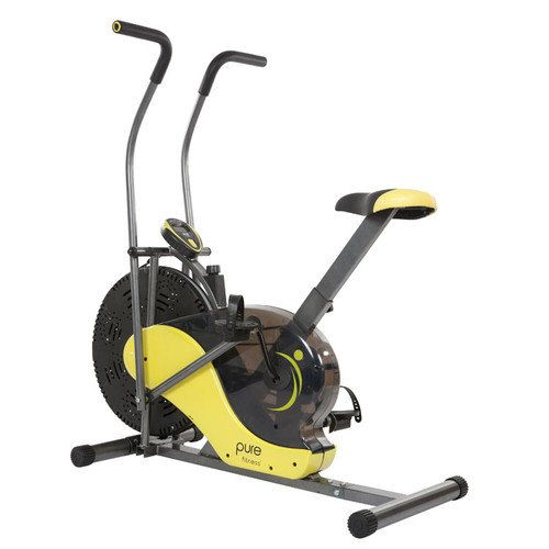 Pure Fitness Fan Bike Exercise Fitness Walmart Com 160