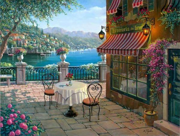 Bellagiomemories - Paintings by Robert Pejman  <3 <3