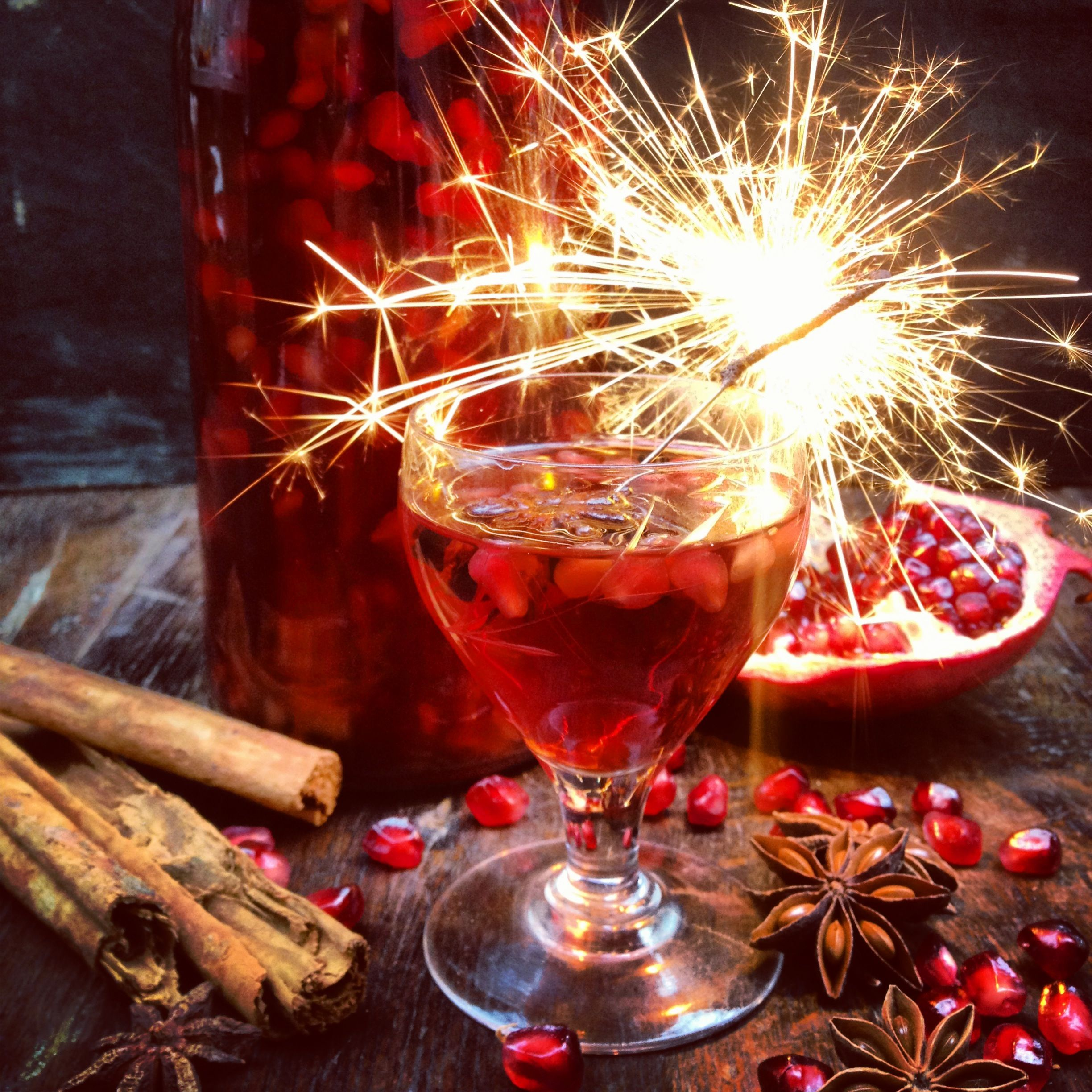 It S Not All About Mulled Wine And Cider Just Get A Bottle Of Your Favourite Spirit And Drop In Some Aromatic Spices Like Star Anise Cloves Cin Christmas Food