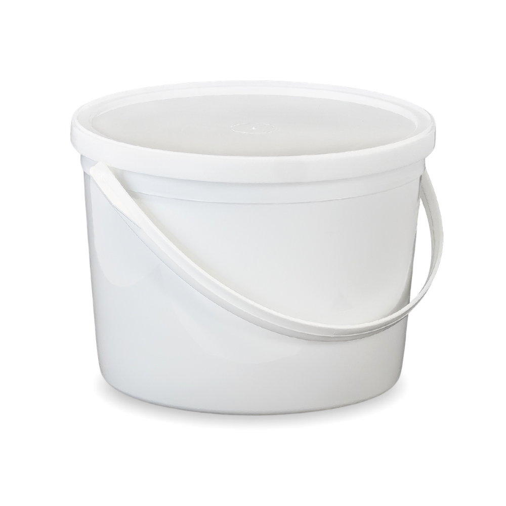 1 2 Gallon 64 Oz Bpa Free Food Grade Round Bucket With Lid T60764b Starting Quantity 10 Count Food Storage Containers Bucket With Lid Water Storage Containers