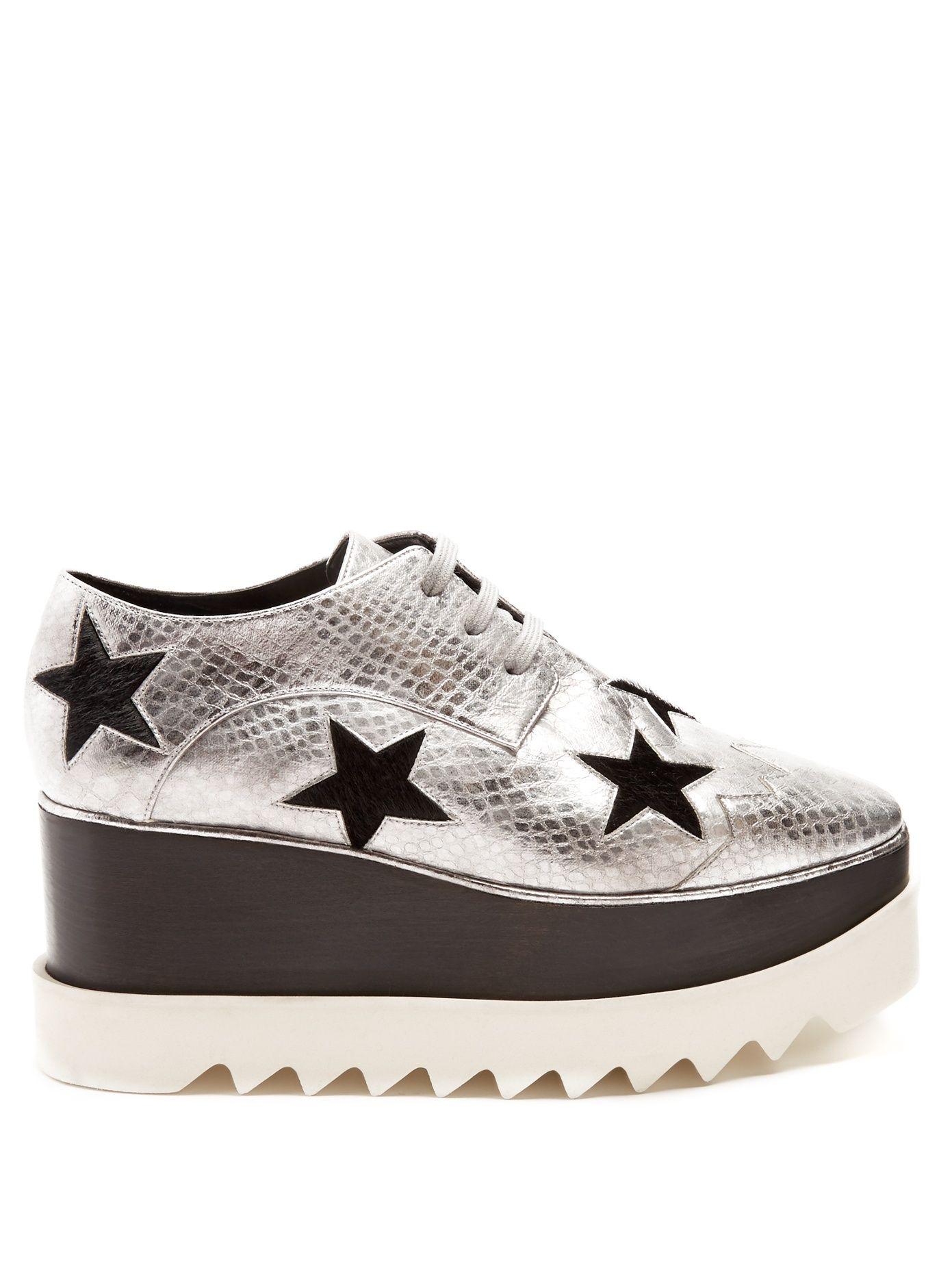 2e9568734549 Click here to buy Stella McCartney Elyse lace-up platform shoes at  MATCHESFASHION.COM