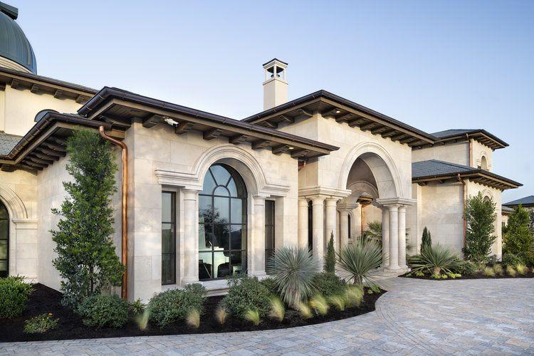 Dream Home In Austin Texas Stone Facade Eclectic Interior Design House Exterior