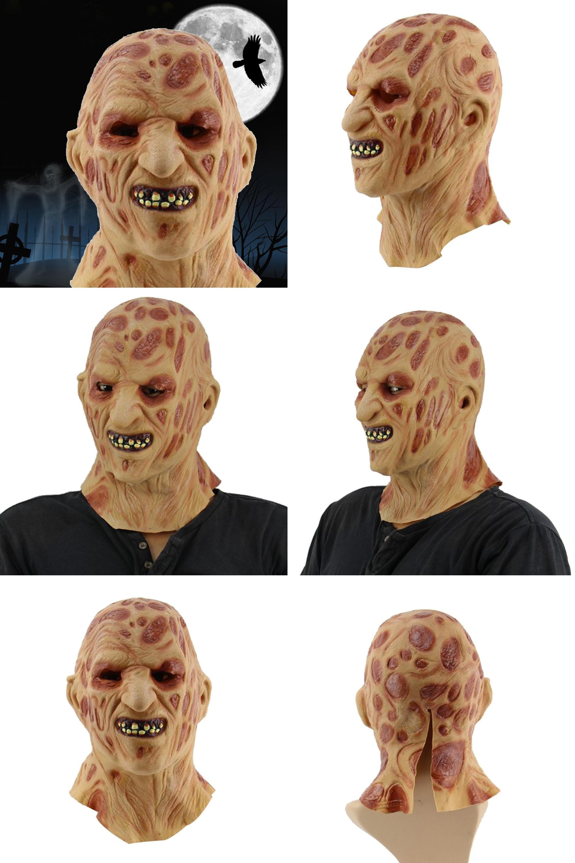 Visit to Buy] Cosplay Alien Latex Mask Halloween Party Wacky ...