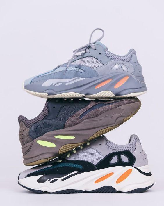 Utility Black 700 V2 Kanye West Geode Static Men Running Shoes Vanta Inertia Runner Wave Solid Grey W Shoes Sneakers Adidas Sneaker Stores Women Sport Sneakers