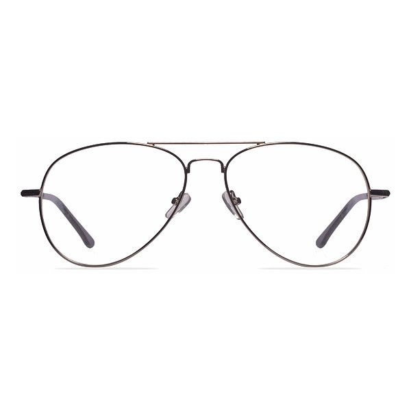 3699386aa42 Men s Nantes - Silver oval metal - 15747 Metal Rx Eyeglasses ( 29) ❤ liked  on Polyvore featuring men s fashion