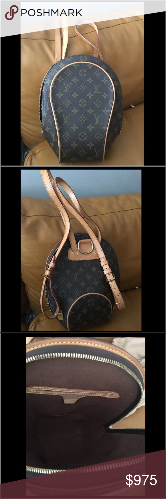 f2592dcee844 Louis Vuitton Mabillon Backpack Designer  Louis Vuitton Monogram Mabillon  Handbag. 100% Authentic.