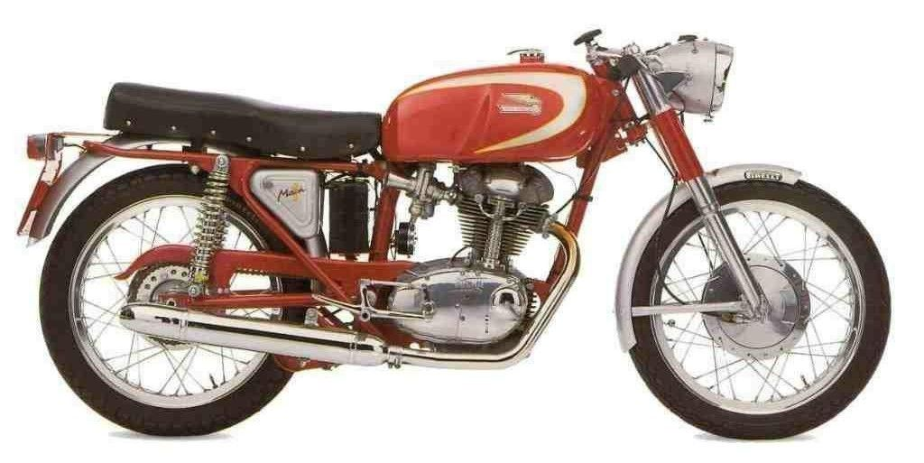 The 1966 MY Ducati 250 Mark 1 is a classic, middleweight machine that had features such as a hydraulic telescopic fork, dual shocks i...