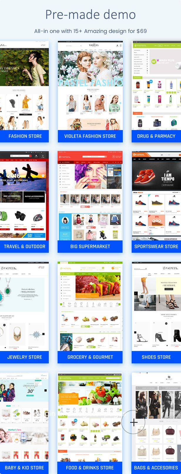 Fastest Plus - Smart Responsive PrestaShop 1.7 , Fashion,Shopping ...