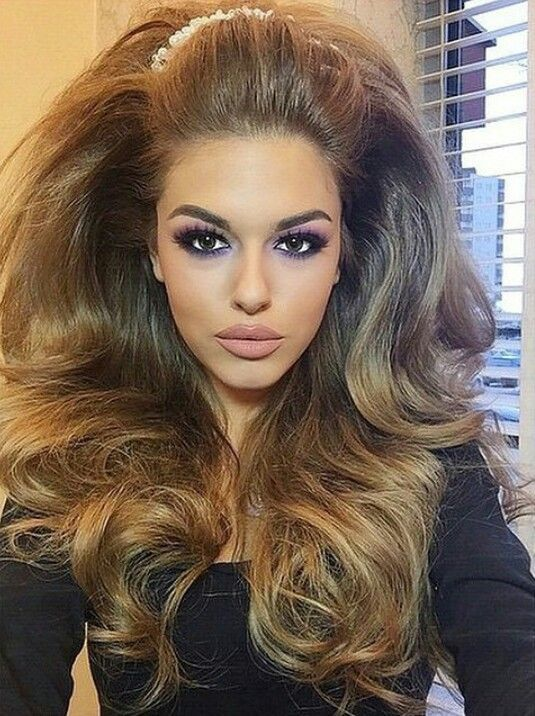Teasing Your Hair Up Will Give You More Volume And Body And Make You The Catch Of Everyone S Eye To Create A Teased Hair Styles Disco Hair Long Hair Styles