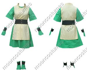 Movie & Game Cosplay - Avatar The Last Airbender Toph High quality custom  designed cosplay uniform and accessories.