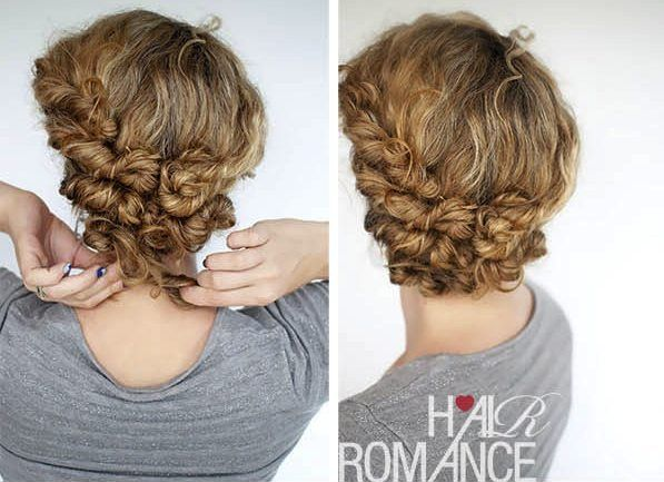 Easy Travel Hairstyles How To: Twist and Pin Updo | Travel ...