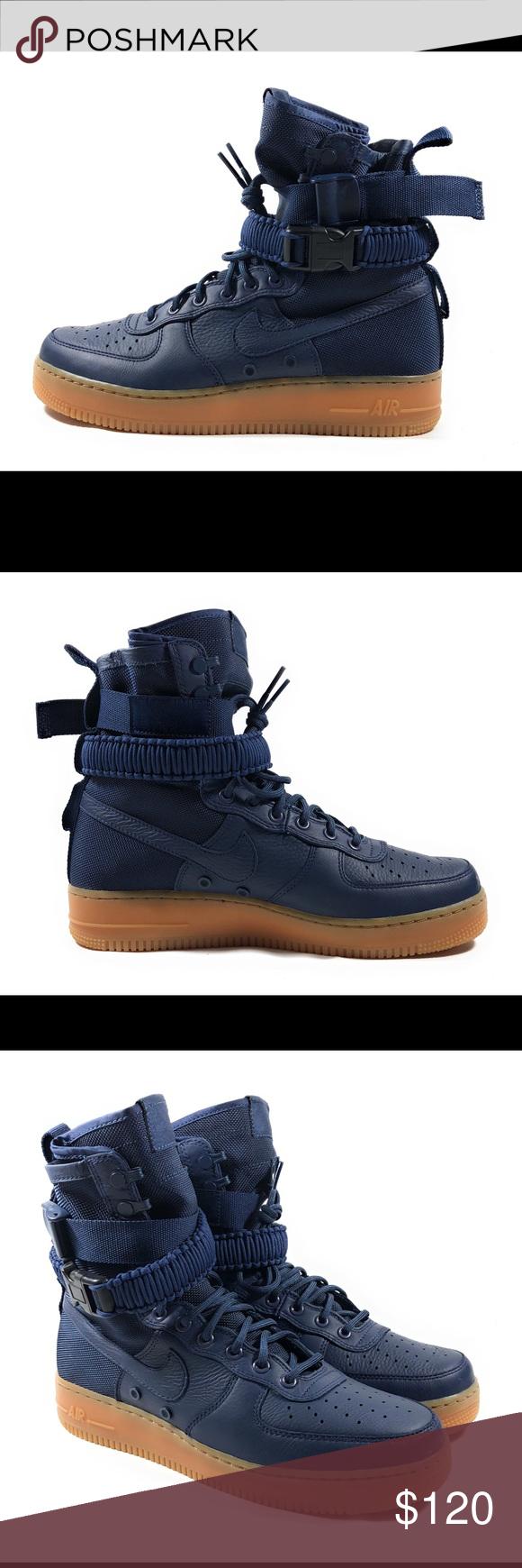 Nike SF Air Force 1 Midnight Navy Sneaker Boots Nike SF Air