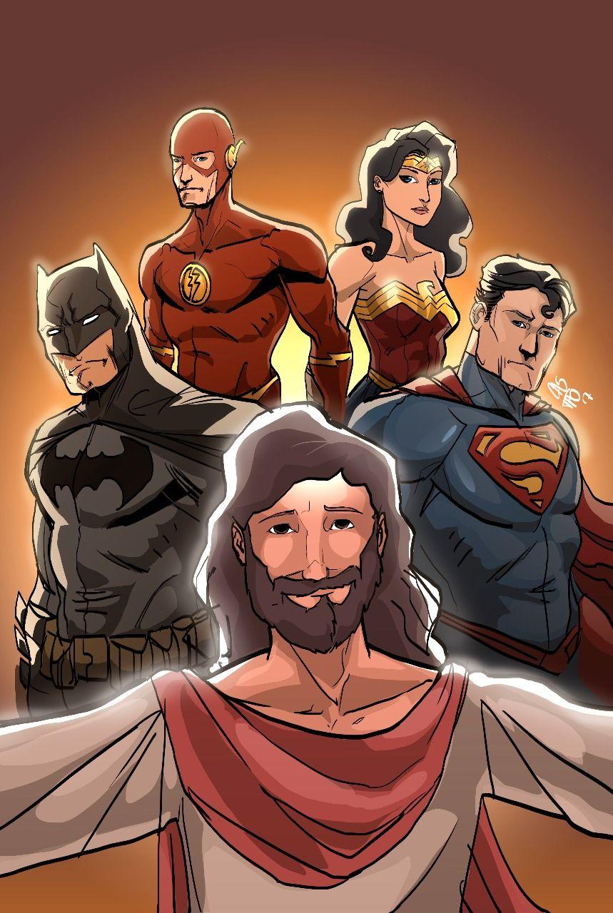 Espetáculo de Dança Super Jesus #SuperJesus #Jesus #Heróis #Batman #Superman #MulherMaravilha #Flash