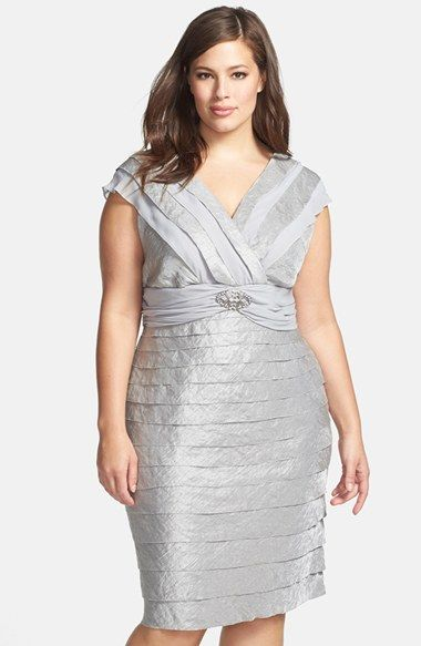 London Times Chiffon Inset Tiered Cocktail Dress Plus Size Nordstrom Evening Dresses Plus Size Plus Size Dresses Mother Of The Bride Dresses