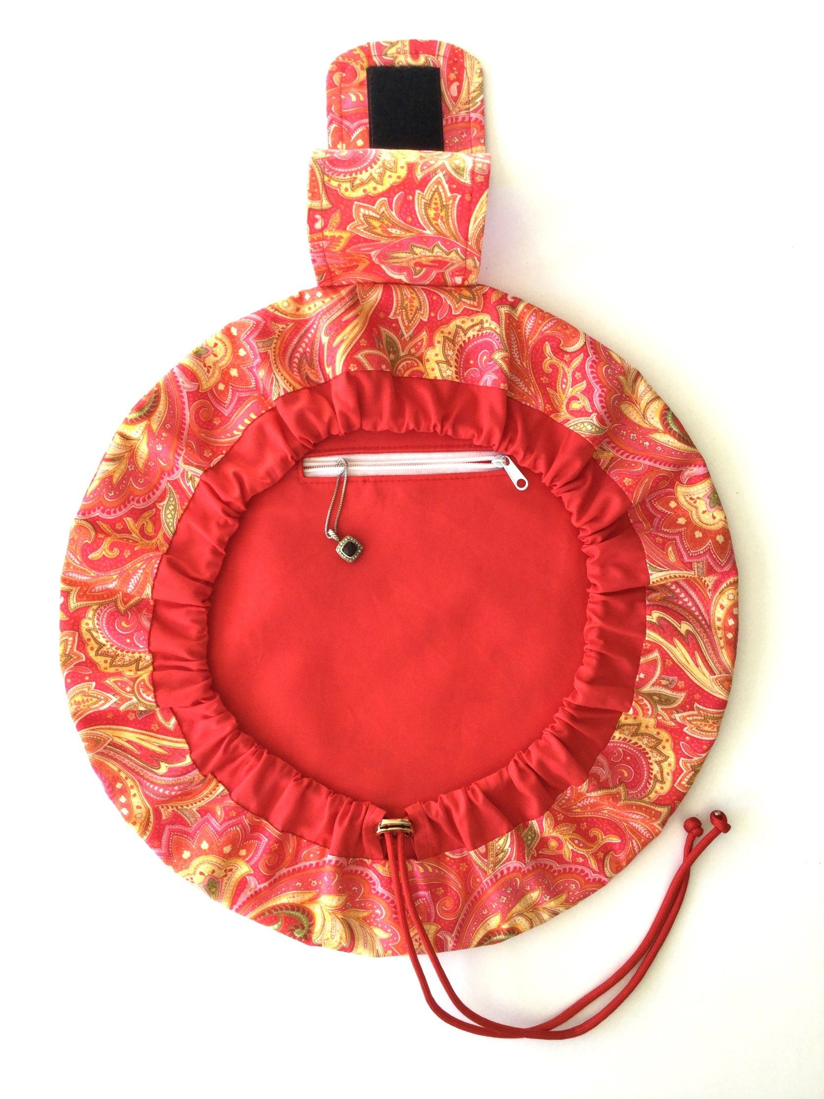 FlatBottom Drawstring Bag Sew and Sell Cosmetic bags