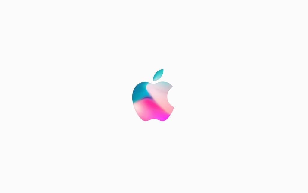 iPhone X 4k Wallpaper apple logo white Apple logo, Apple