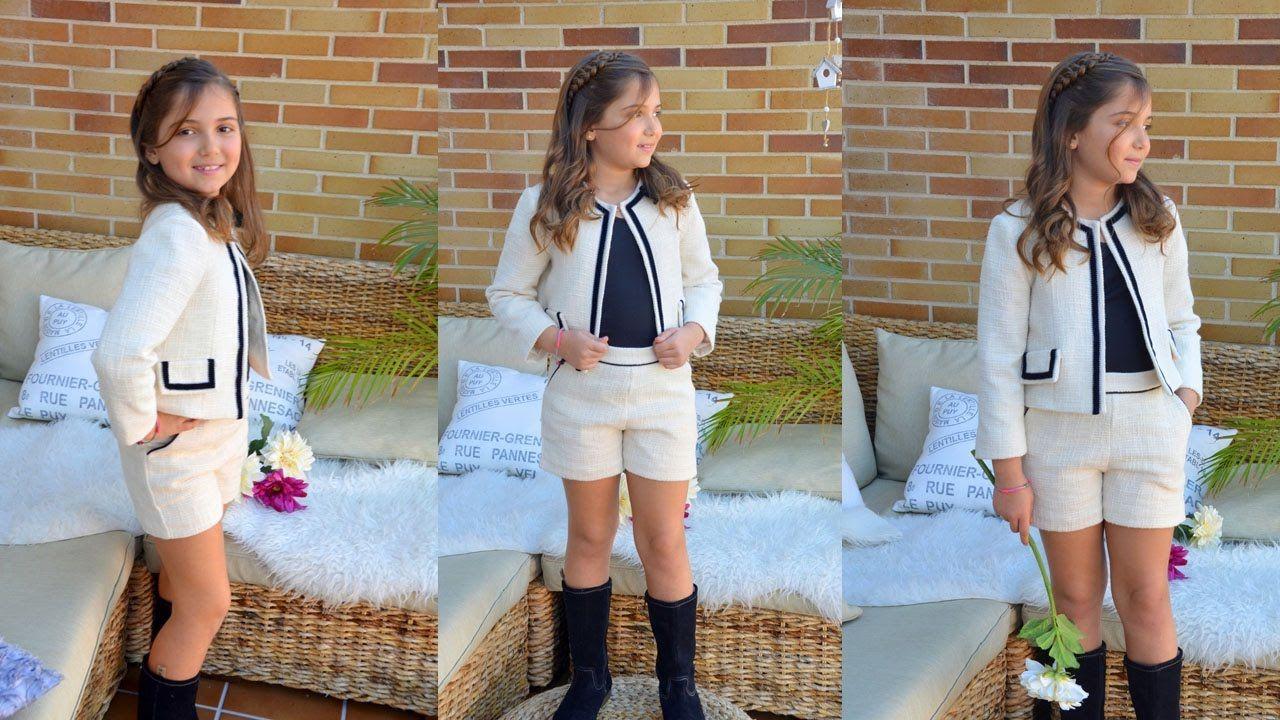 Clase de costura: chaqueta estilo Chanel para niña