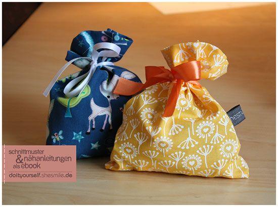 kleines s ckchen kostenlose n hanleitung und schnittmuster weihnachten pinterest sewing. Black Bedroom Furniture Sets. Home Design Ideas