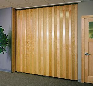 Double Sided Accordion Folding Doors Room Dividers And Partitions Finished With Select Hardwoods