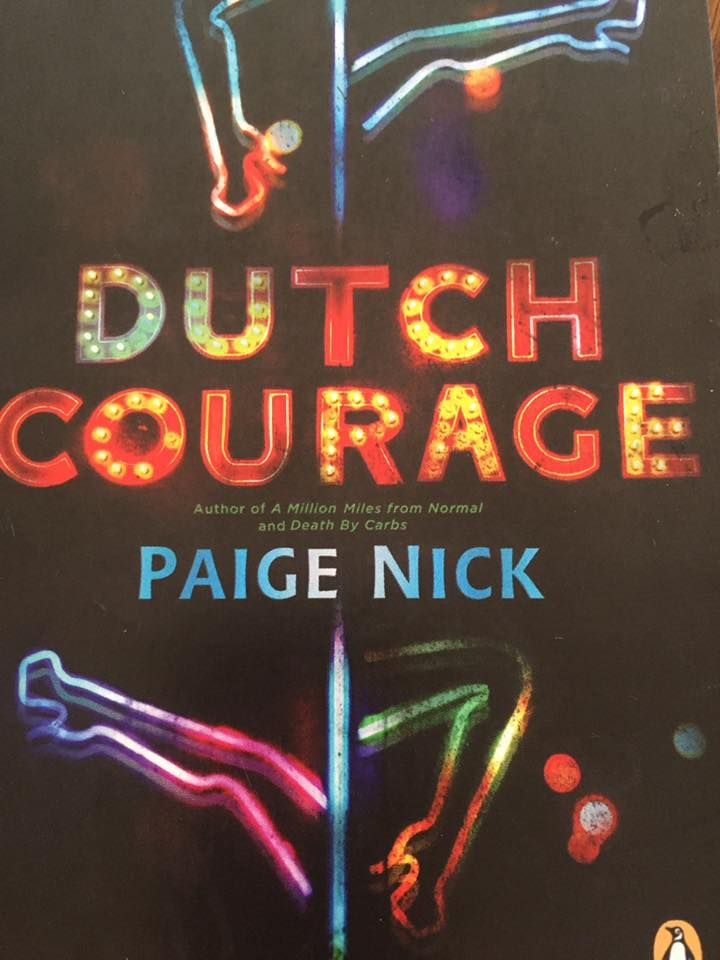 """Terry Ellen Raats: """"Loving old fashioned postcard-in-the-mail from Paige Nick - thank you! #DutchCourage"""""""