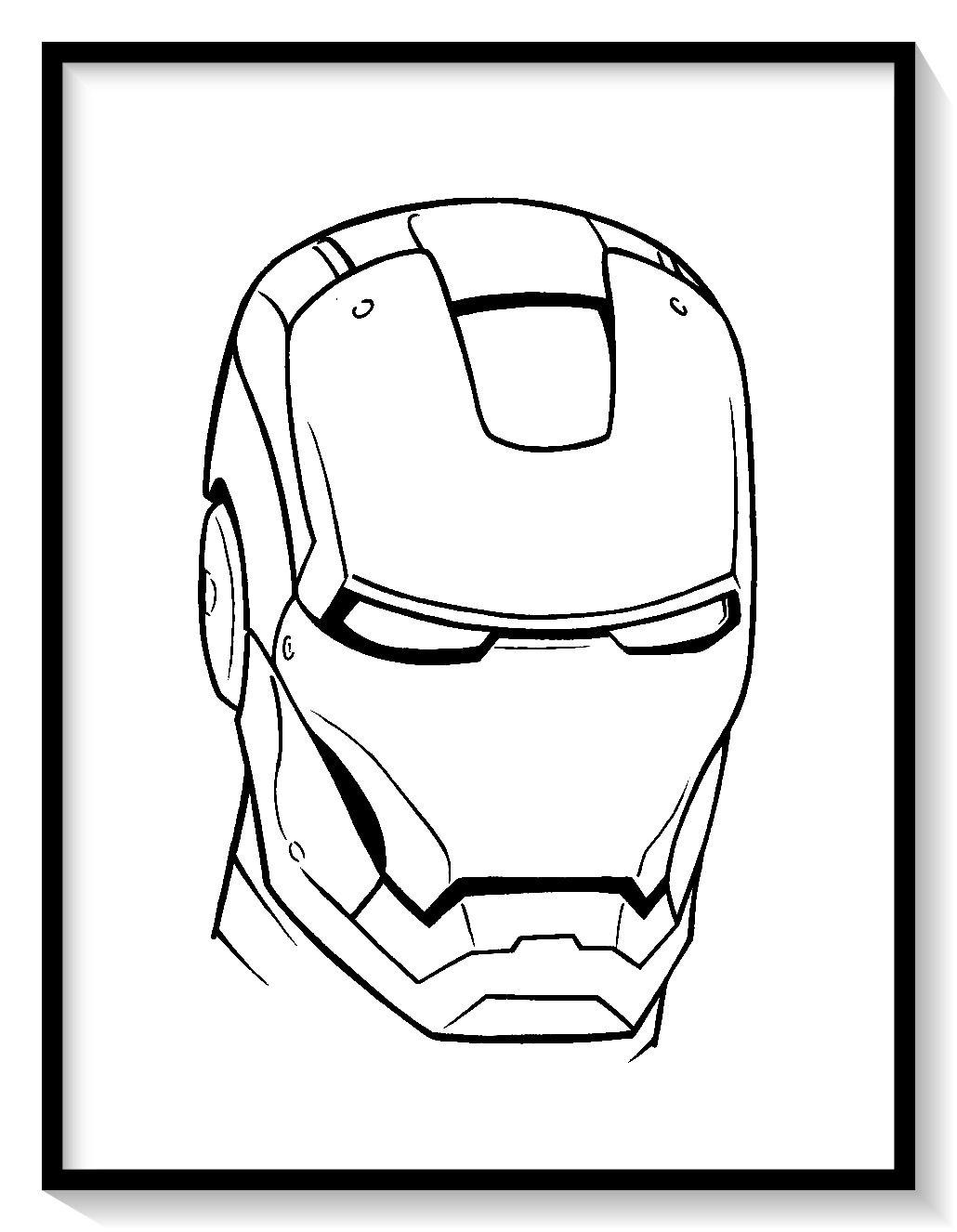 Pin De Dibujo Imagenes En Unicornios Para Pintar Iron Man Para Colorear Ironman Dibujo Unicornios Para Pintar