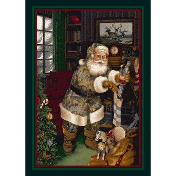 Realtree Tufted Beige Brown Greenarea Rug Christmas Rugs Holiday Rugs Christmas Scenes