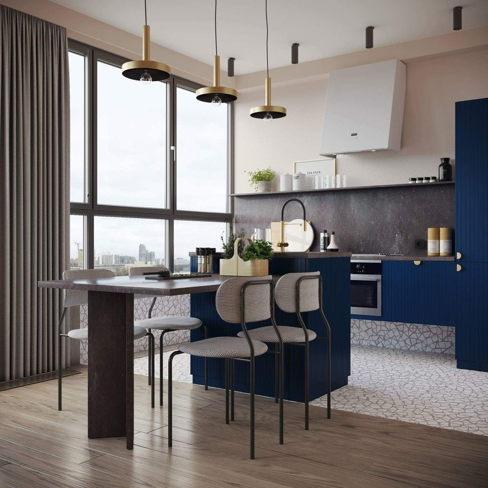 Two window kitchen design  pin by shipra kamal on home goals  pinterest  home and goals