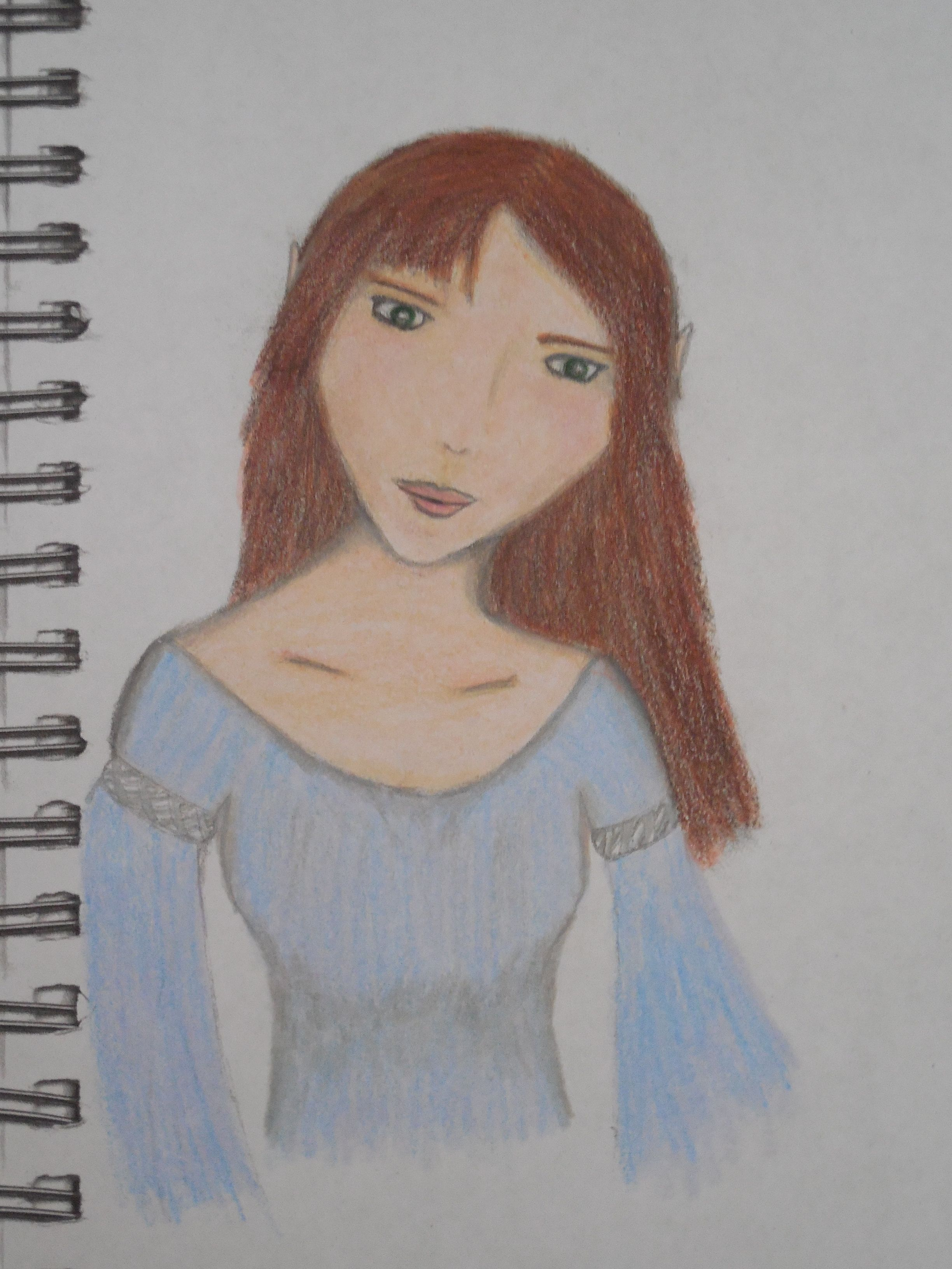 Hi, all! I'm new to this board, so here's a quick summary of me. I love to draw - fantasy, mostly - and I try to be as realistic as possible, but sometimes I draw manga. This is one of my best works.