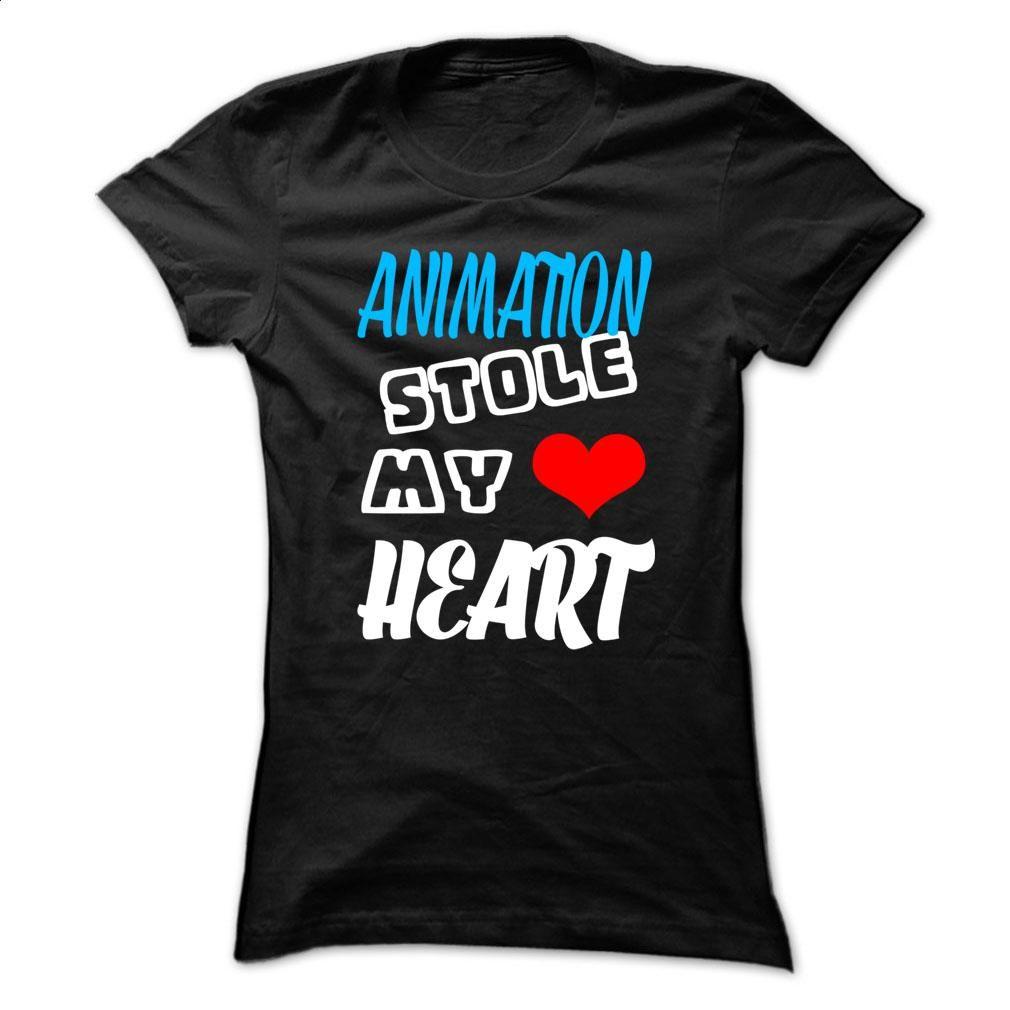 Animation Stole My Heart  T Shirt, Hoodie, Sweatshirts - cool t shirts #teeshirt #clothing