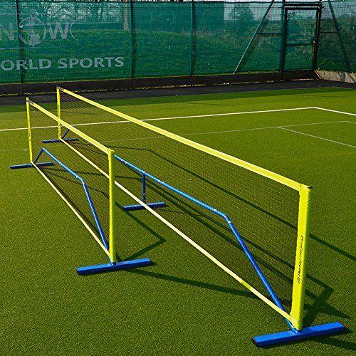 Procourt Mini Badminton Tennis Combi Net 20ft The Only Portable Steel Badminton Net 20ft Wide Spo Tennis Nets Soccer Tennis Soccer Training Equipment