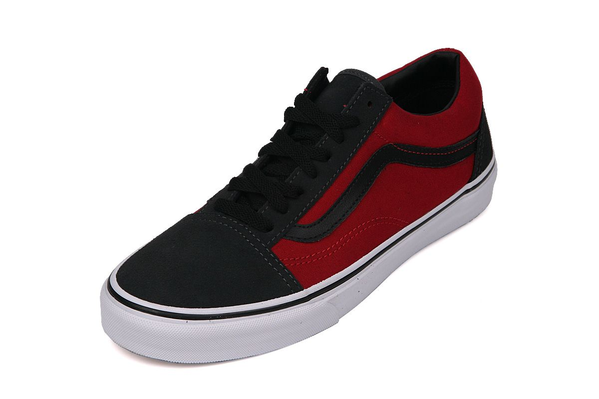 3adc8336b244 Vans Old Skool (Dark Shadow-Chili Pepper-Black)