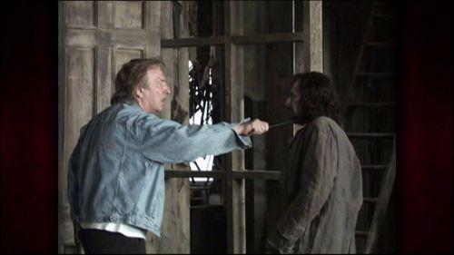 Severus Snape Photo Behind The Scenes Of Harry Potter Alan Rickman Alan Rickman Alan Rickman Severus Snape Alan Rickman Snape