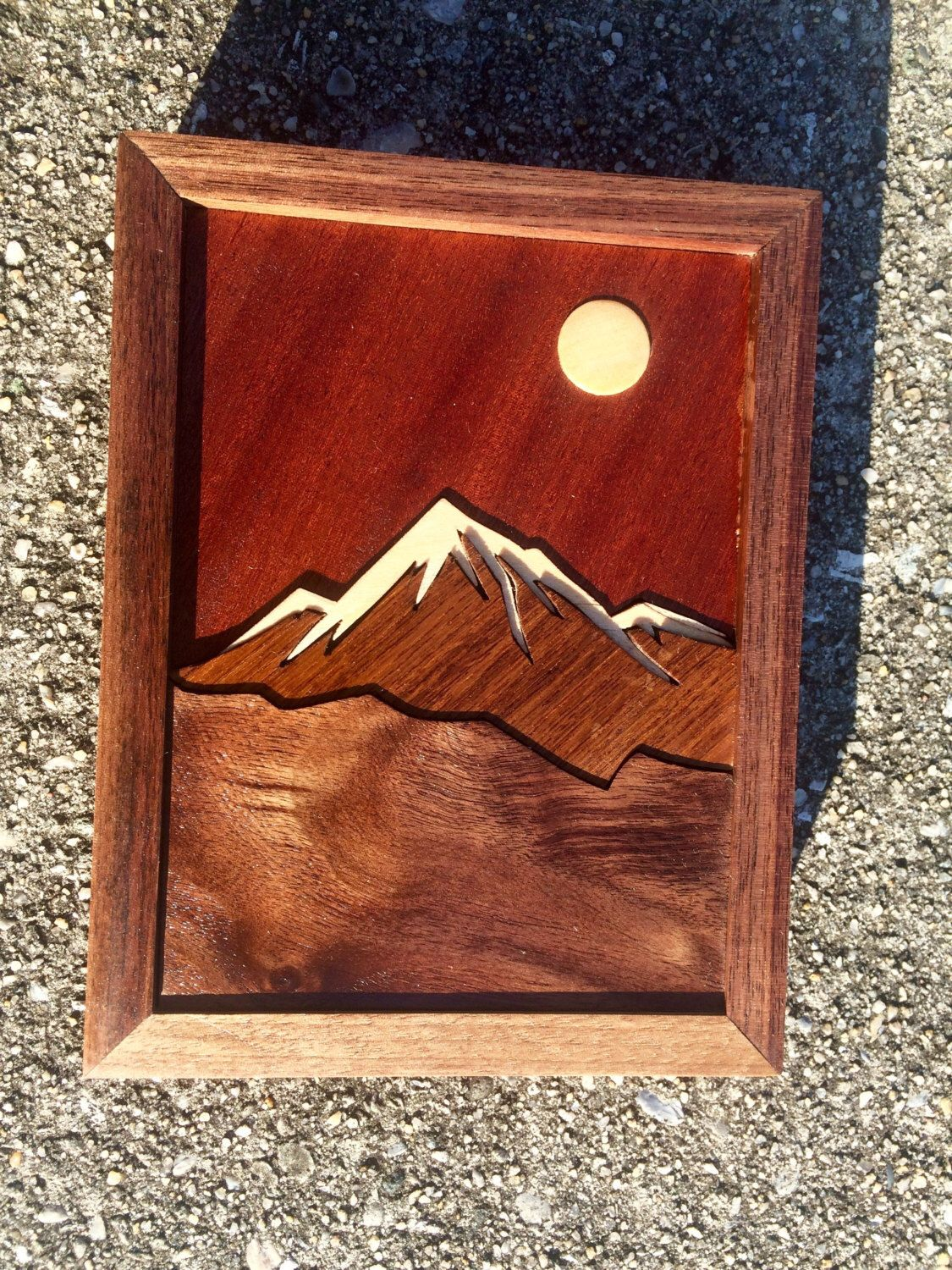 Your Place To Buy And Sell All Things Handmade Wooden Art Wood Inlay Inlay