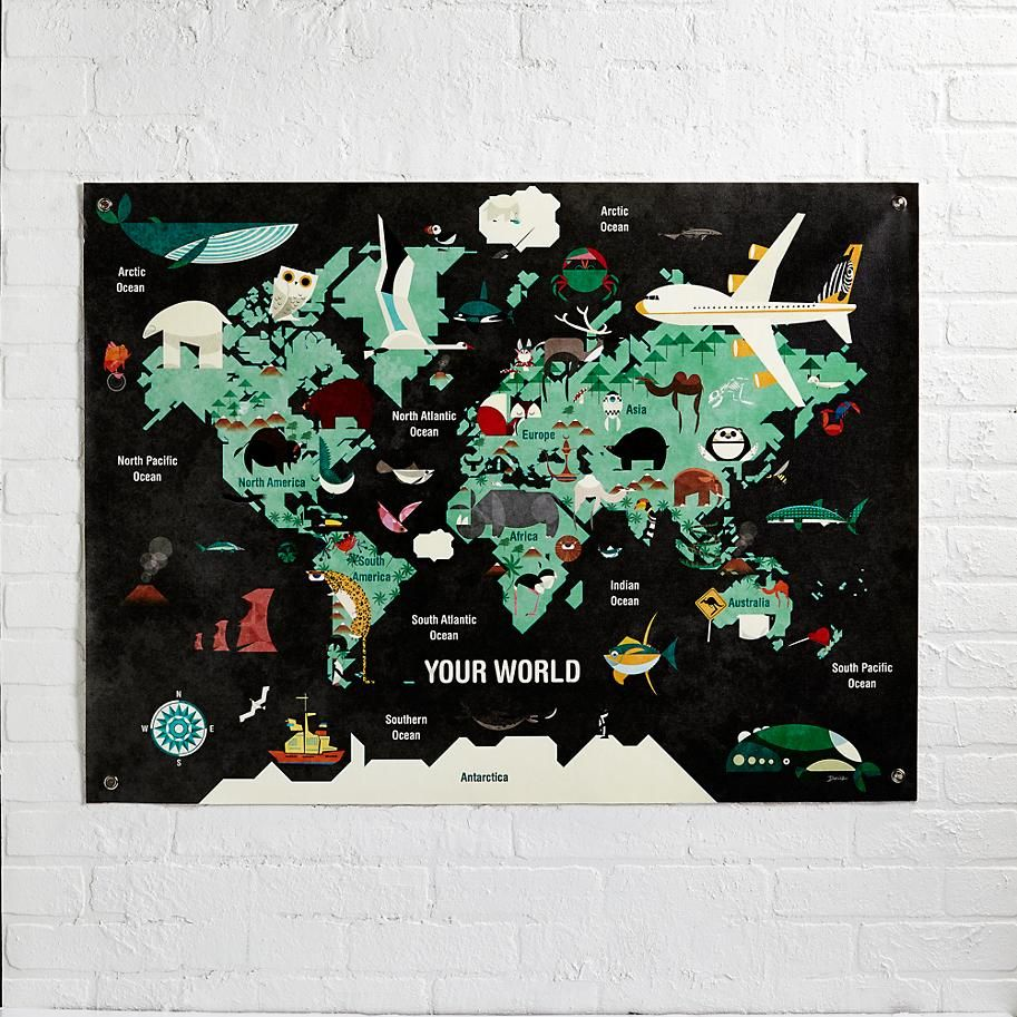 The World Banner    The Land of Nod