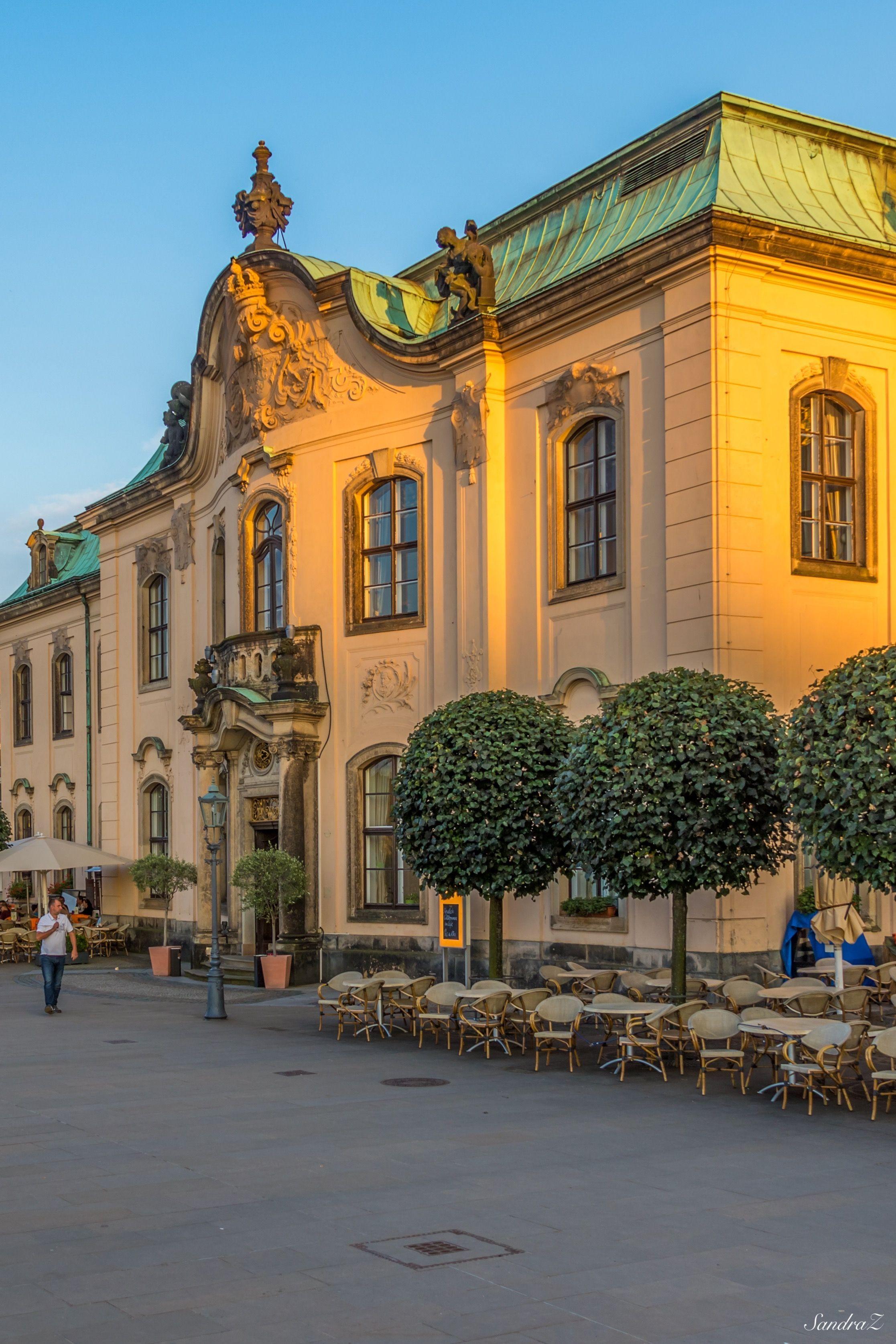 Secundo Genitur Bruhlsche Terasse Dresden Burg Dresden Stadt