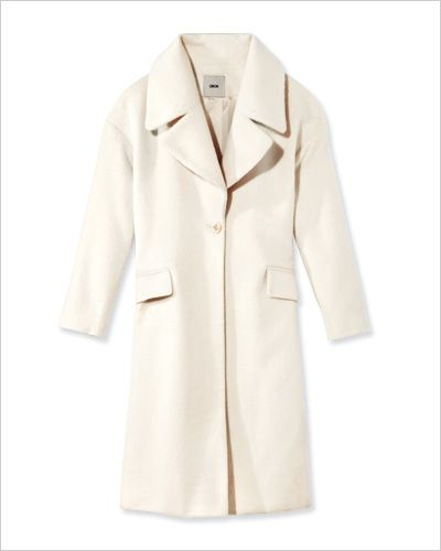 Asos Winter White Coat From Instyle, Asos Winter White Coats