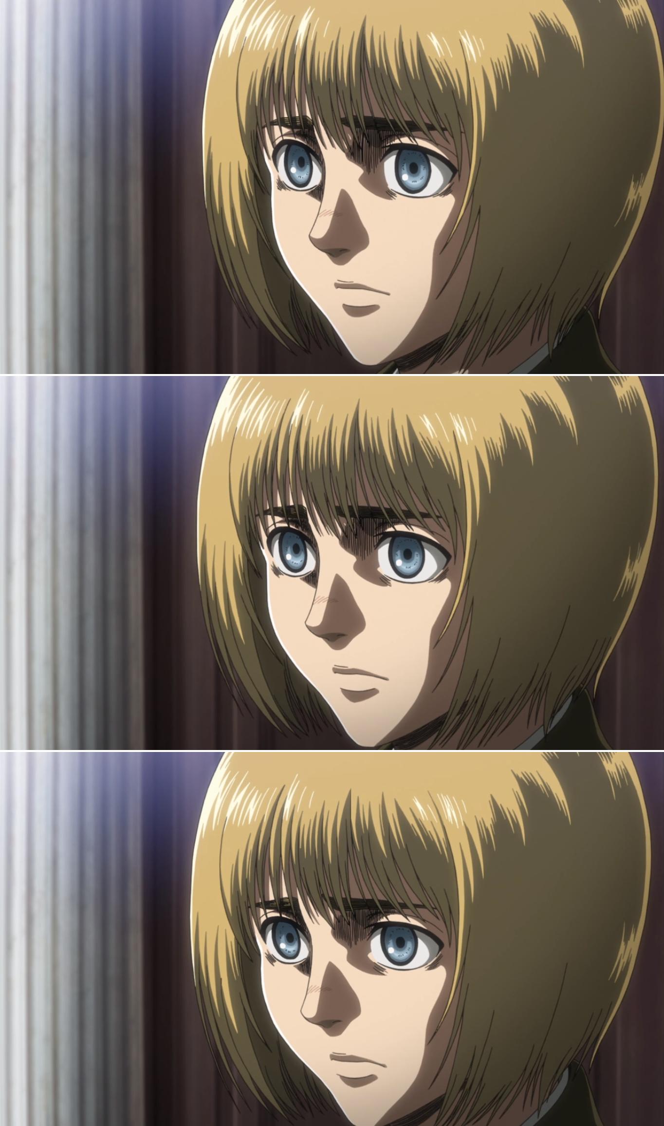Season 3 / Armin Attack on titan, Armin, Anime