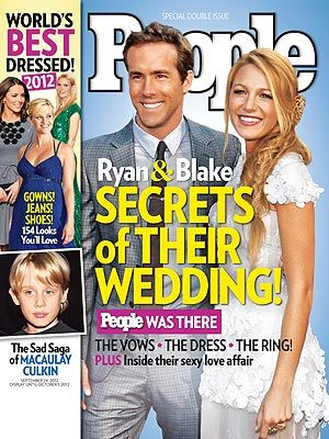ON NEWSSTANDS 9/14/12: Secrets of Blake and Ryan's wedding! All about the reception, her dress and more! Plus: PEOPLE picks the 10 best-dressed stars of 2012 and more