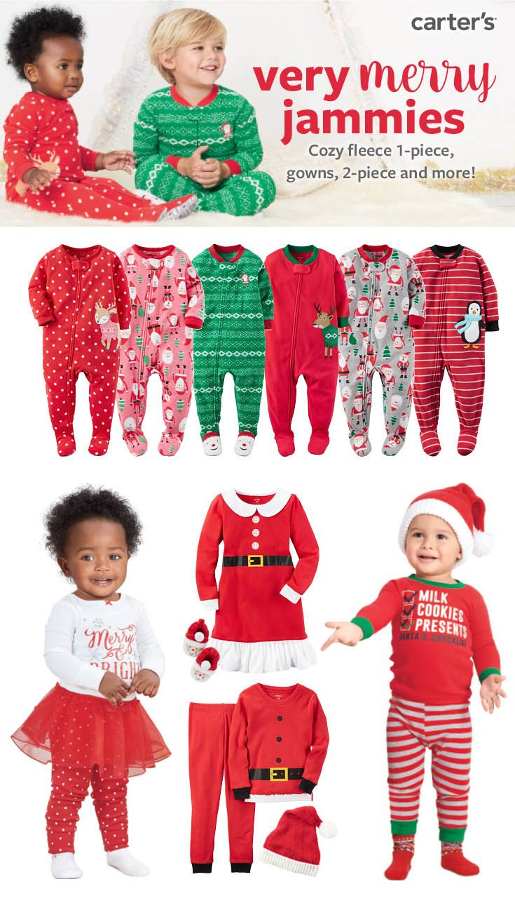 b14cd93f1 Shop America's favorite jammies for the holidays! We've got pajamas for  every little one.