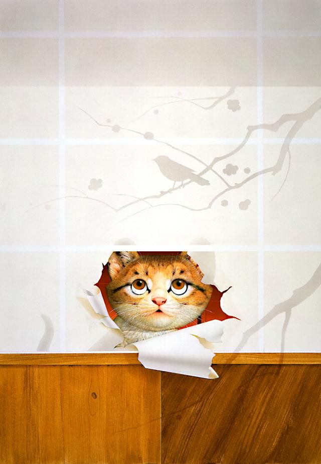Makoto Muramatsu Asian Cat Image Chat Drawing Anese Artists Here Kitty