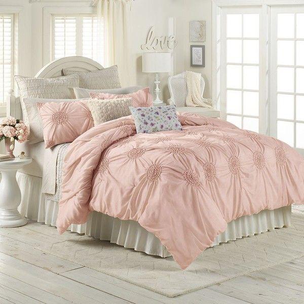Lc Lauren Conrad Eloise Comforter Set Pink Rose Comforter Sets Blue Comforter Sets Home Decor