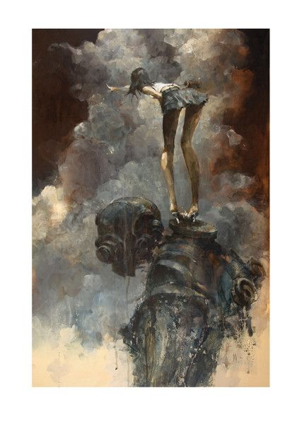 """""""There"""" by Ashley Wood"""