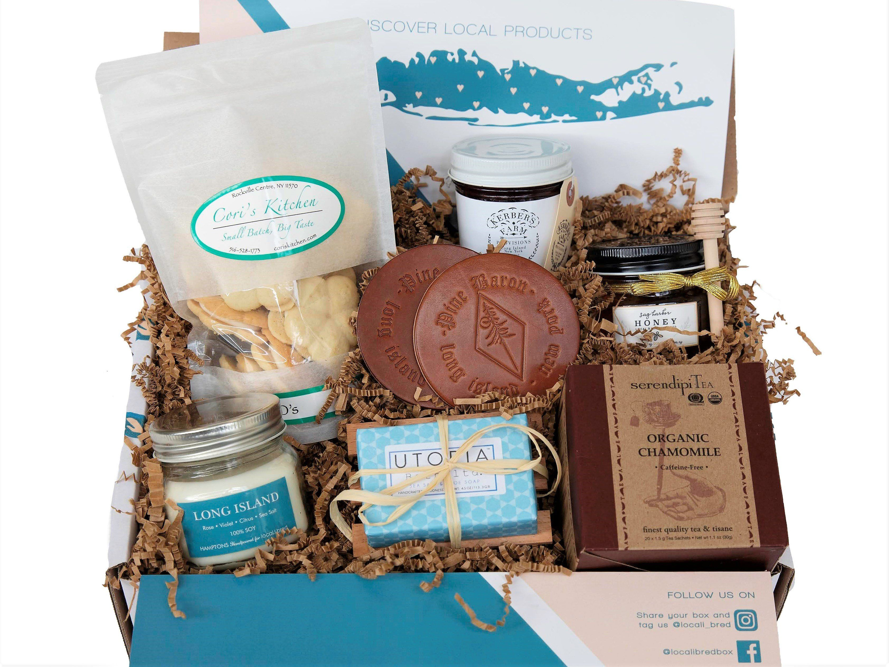 Photo of Long Island Home Comforts Gift Box