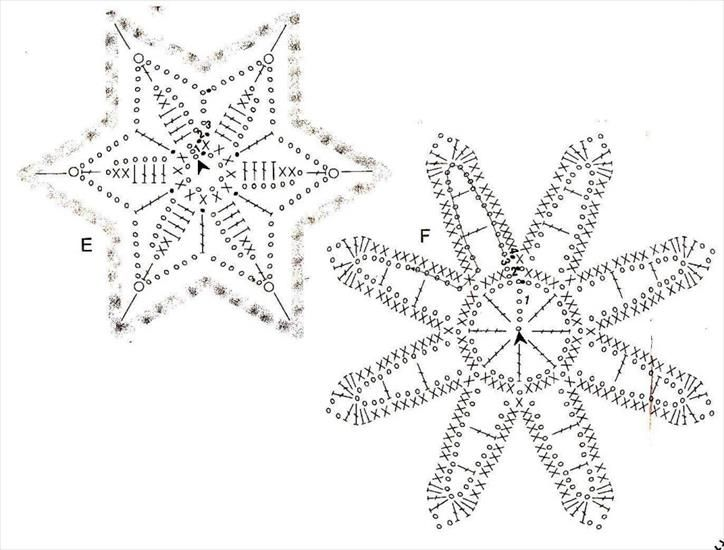 Szydelkowe Gwiazdki Szydelkowanie Arla 1112 Chomikuj Pl Crochet Snowflake Pattern Crochet Snowflakes Holiday Crochet