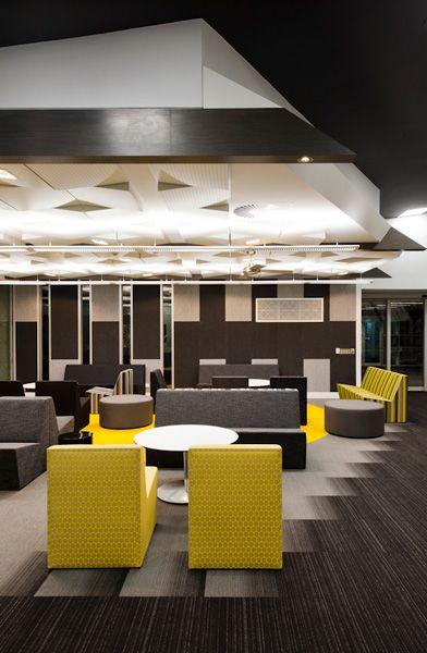 La trobe university west lecture theatre by darren carnell architects office ideasoffice designscommercial interiorsarchitecture