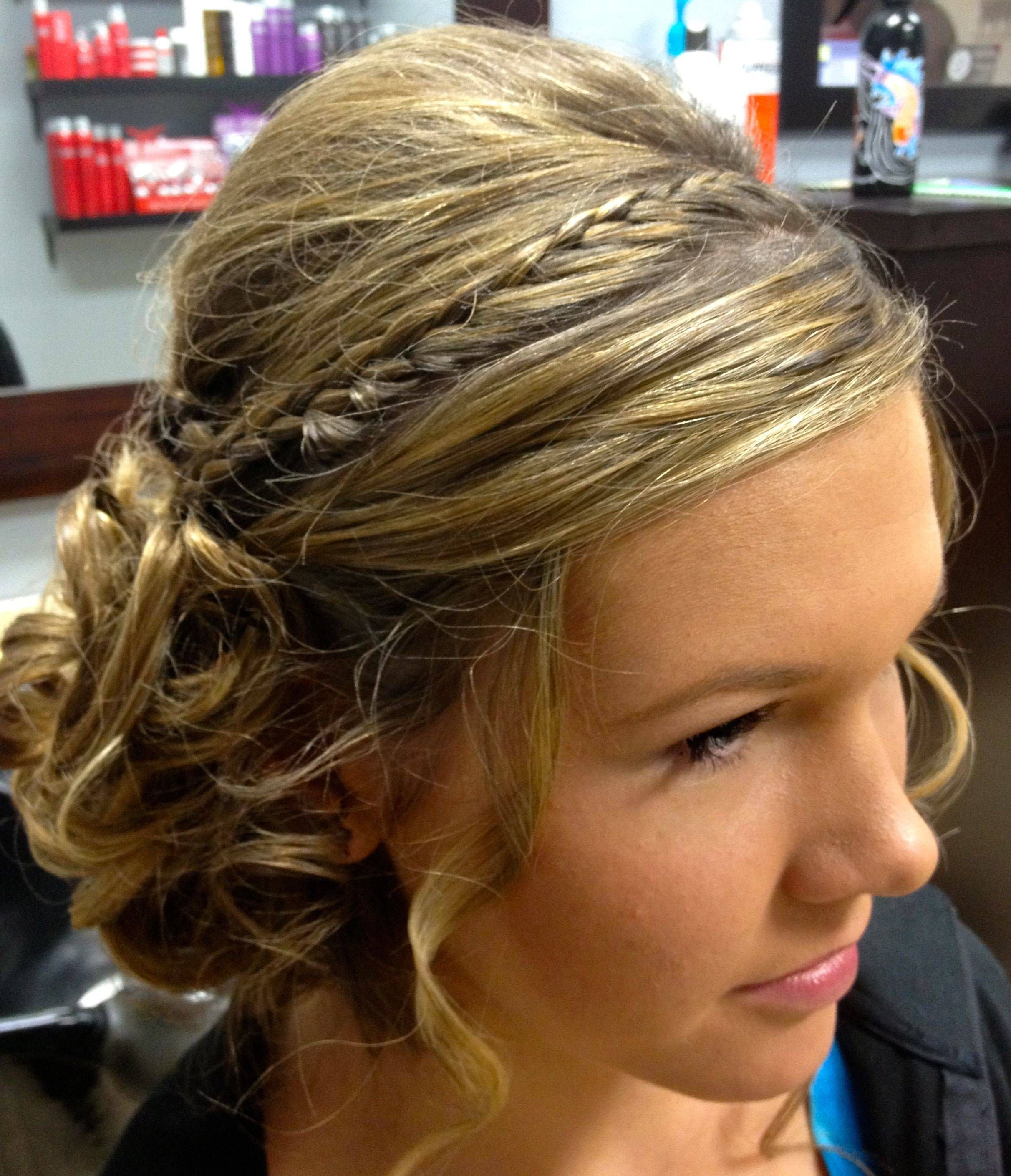 Terrific 1000 Images About Homecoming Hair On Pinterest Spiral Curls Short Hairstyles For Black Women Fulllsitofus